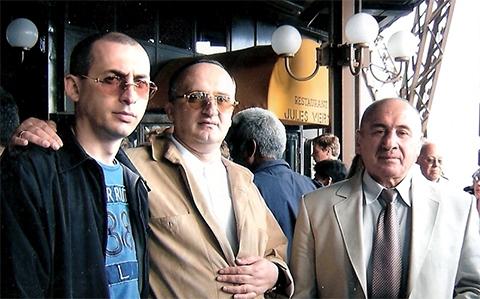 Звиад Дарсадзе, Давид Чхиквишвили (Дато Сургутский) и Михаил Никурадзе (Луа Самтредский)