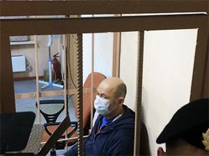 Бывший прокурор Ленобласти Станислав Иванов в Петроградскому районном суде Петербурга