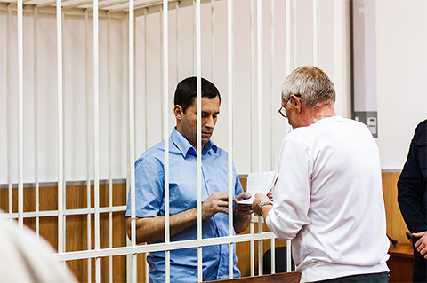 Юрий Шкретов в суде