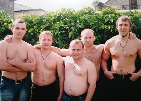Участники ОПГ Турбазовские