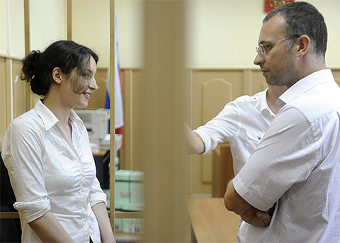 Евгения Хасис и Александр Васильев, 2010 год