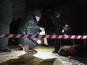 На месте убийства Романа Бернштейна