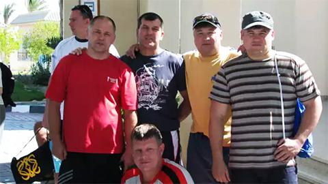 Участники ОПГ Восьмерочные в конце 90-х