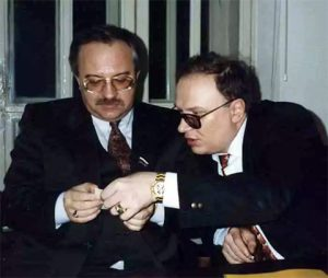 Вячеслав и Сергей Шевченко