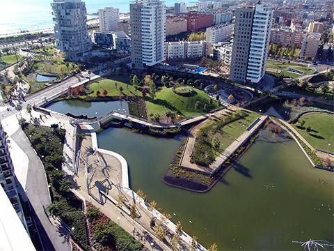 Район Diagonal Mar в Барселоне