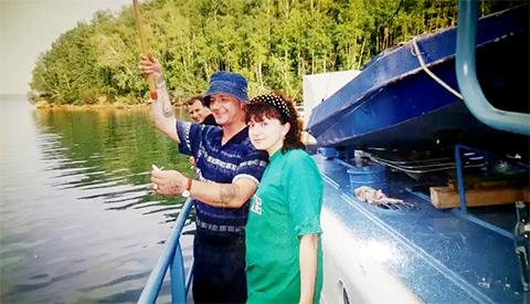 Сергей Бойцов с супругой