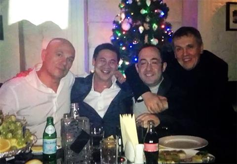 Слева воры: 1) Сергей Левашов (Рамс), 3) Константин Гинзбург (Гизя), 4) Олег Мухаметшин (Муха)