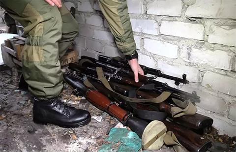 МГБ был обнаружен тайник, в котором хранились РПГ-22, РПГ–18, РПГ-26, РПГ-7, СПГ-9, гранаты различных модификаций, пулемёты, автоматы, пистолеты и боеприпасы к ним