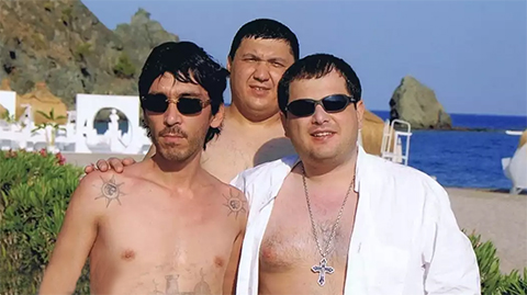 Впереди: Бахтиер Кудратуллаев (Бахти Ташкентский) и Сурен Тавадов (Сурик Андижанский)