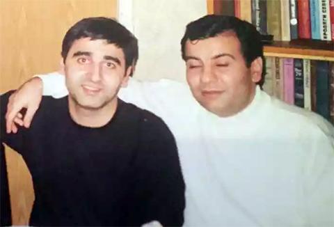 Слева воры в законе: Нодар Алоян (Нодар Тбилисский), Давид Озманов (Дато Краснодарский)
