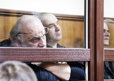 Лысенко на суде с участниками ОПГ