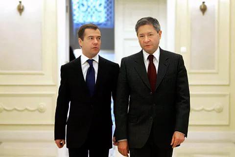 Рейман с Дмитрием Медведевым