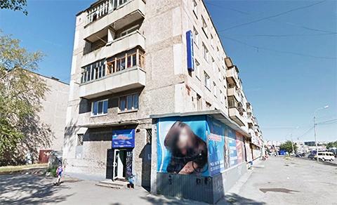 """В этом доме на первом этаже располагалась парикмахерская """"Мария"""", где был убит авторитет Владимир Машинский"""