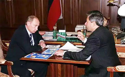 Рейман на приеме у Владимира Путина