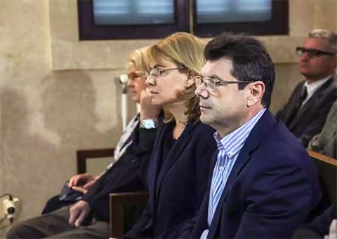 Александр Романов и Наталья Виноградова в Испанском суде