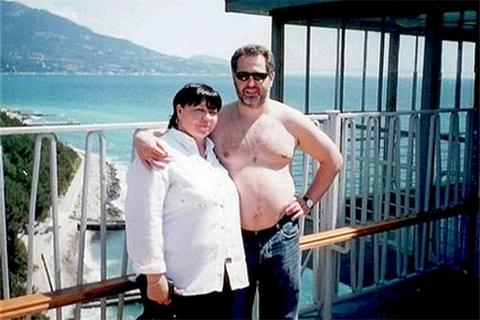Дмитрий Фирташ с бывшей женой Марией Калиновской