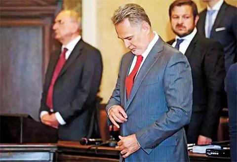 Дмитрий Фирташ в Венском суде