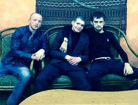 В центре: Максим Французов - Француз