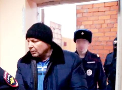 Юрий Пичугин под конвоем, 20.02.2017, Сыктывкар