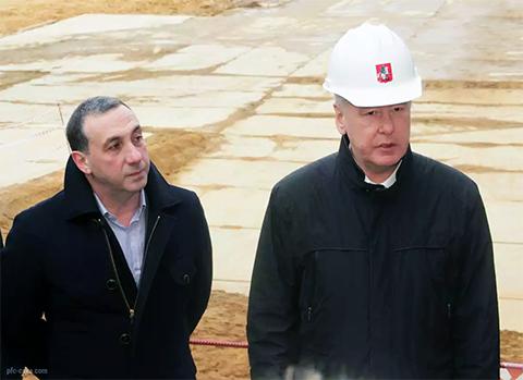 Слева: Евгений Гинер и Сергей Собянин