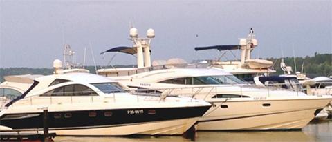 Яхта Родионова