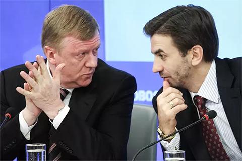 Анатолий Чубайс и Михаил Абызов