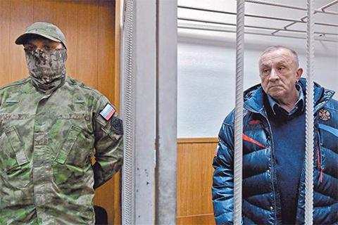 Александр Соловьёв в суде
