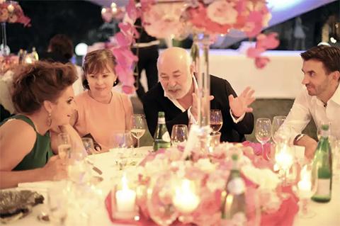 Михаил Абызов играет свадьбу сына на своей Итальянской вилле
