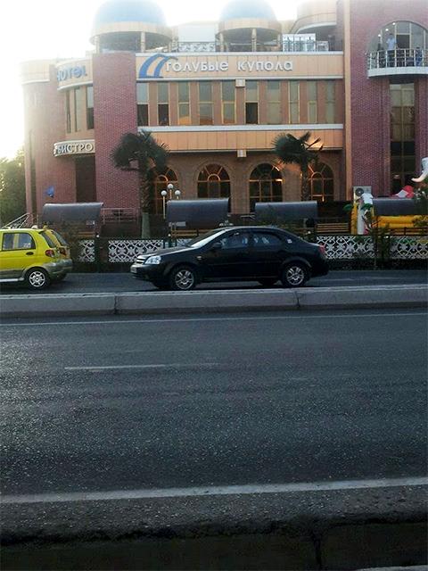 """Коммерческое предприятие """"Голубые купала"""" в городе Бухара, полученное Назимом Джумаевым, путем рейдерского захвата"""