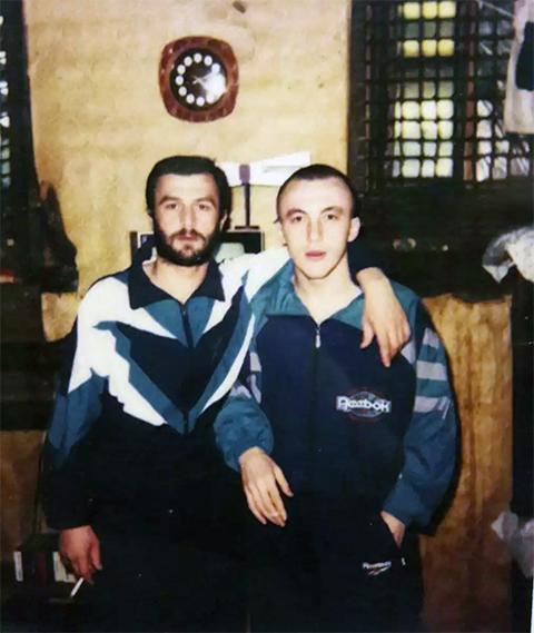 Слева воры в законе: Тенгиз Луарсабишвили и Мамука Курдадзе (Малыш)