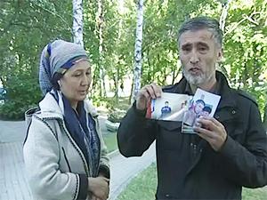 Отец погибшего 26 летнего Акбарали Акбаралиева