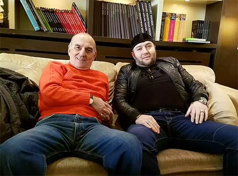 Слева: вор в законе Вальтер Джеджея и криминальный авторитет Хамзат Гастамиров