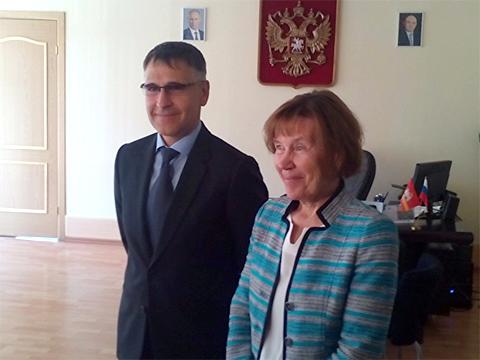 Олег Данилов и Ирина Гладкова