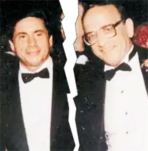 Слева: Энтони «Газовая труба» Кассо и Бертон Каплан