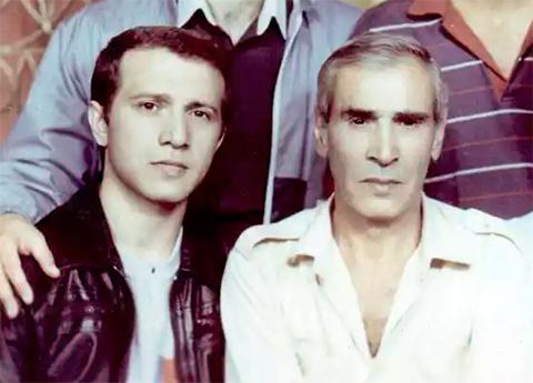 Слева воры в законе: Гагик Гегамян (Картол) и Карлен Товмасян (Гиж Карлен)