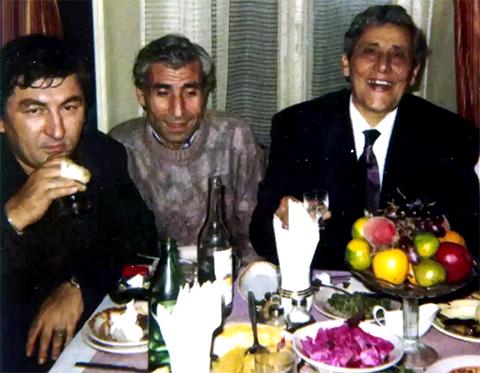 Слева направо: Дато Ташкентский, Зураб и Сво Раф