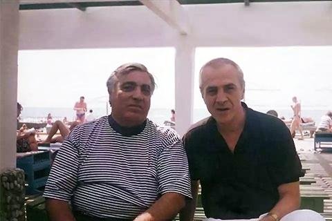 Слева воры в законе: Аслан Усоян (Хасан) и Радик Ходжабекян (Хдо)
