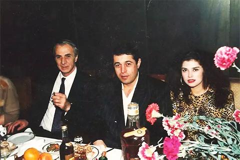 Слева воры в законе: Радик Ходжабекян (Хдо) и Тамаз Пипия (Тамаз Сухумский)