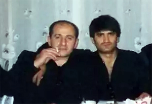 Слева воры в законе: Рамаз Дзнеладзе и Эдуард Асатрян