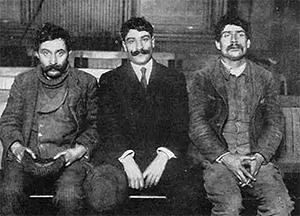 Участники одной из первых итальянских банд в США (Черная Рука)