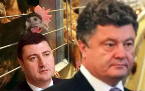 Порошенко и Олег Бахматюк