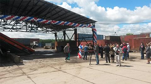 Открытие сортировочной линии на полигоне Кучино