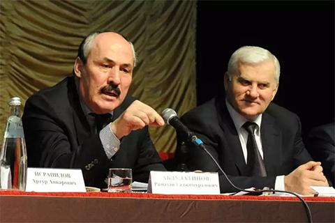 Саид Амиров и Рамазан Абдулатипов