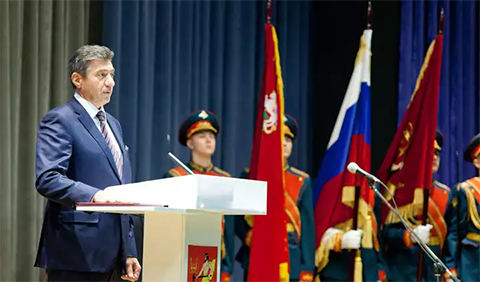 Владимир Пекарев вступил в должность главы Электростали