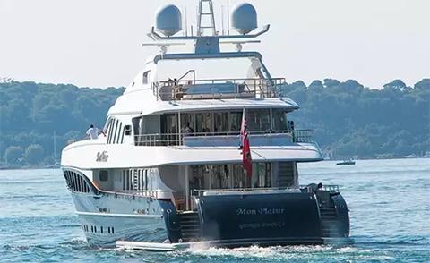 Наверно у Сергея монплезир Федотова в РАО очень неплохо идут дела, раз он может позволить себе такую яхту.