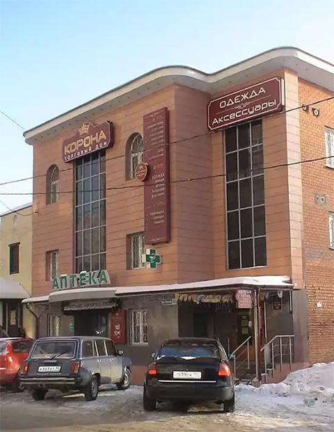 Здание по ул. Новая, д.8