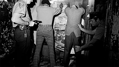 Антинаркотический рейд нью-йоркской полиции в Гарлеме, 1972 год