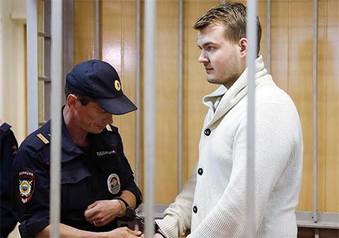 Аркадий Смелов в суде