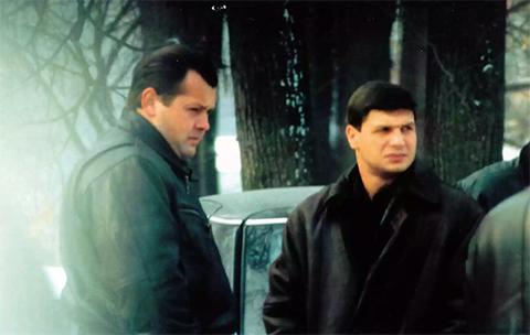 Слева: Александр Шарапов и Андрей Пылев