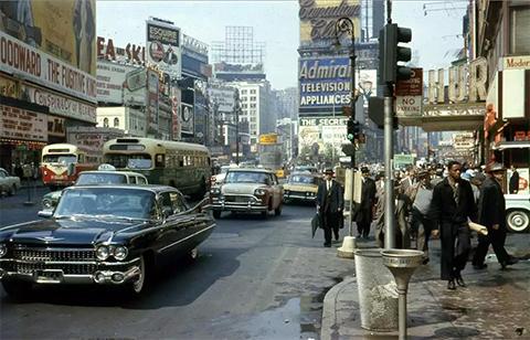 Таймс-сквер, 1960 год